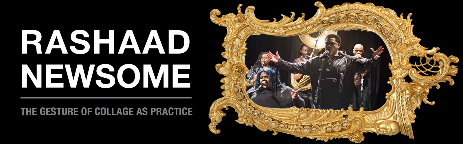 Rashaad Newsome: The Gesture of Collage as Practice header image
